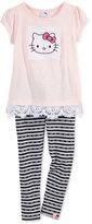 Hello Kitty 2-Pc. Tunic & Leggings Set, Toddler & Little Girls (2T-6X)