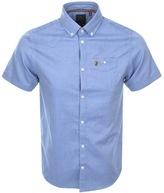 Luke 1977 Jimmy Travel Short Sleeve Shirt Blue