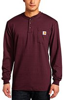 Carhartt Men's Workwear Pocket Long-Sleeve Henley Shirt