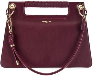 Givenchy Contrast Medium Whip Bag in Aubergine   FWRD