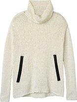 RVCA Junior's Down Unda Knit Pullover Sweater