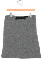 Marni Junior Girls' Knit Knee-Length Skirt
