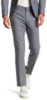 Topman Blue Daytona Flat Front Suit Separates Pant