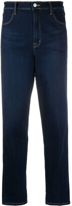 J Brand Cotton Straight-Leg Jeans