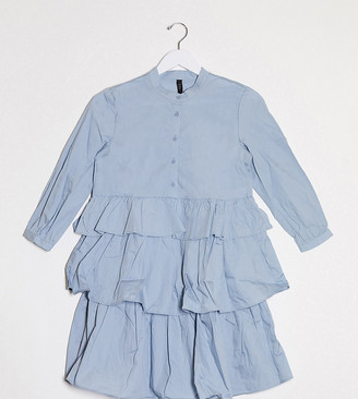 Y.A.S tiered shirt dress
