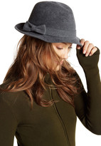 Helen Kaminski Packable Genuine Rabbit Fur Fedora