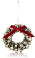 Bethany Lowe Designs Vintage Holiday Wreath Ornament