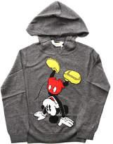 Little Eleven Paris Bickey Jacquard Mickey Hoody
