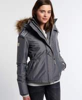 Superdry Hooded Fur Sherpa Wind Attacker Jacket