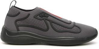 Prada Americas Cup Slip-on Sneakers