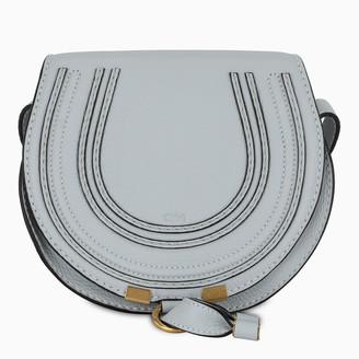 Chloé Light grey Saddle Marcie mini bag