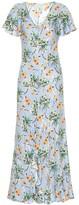 Etro Floral silk-blend maxi dress
