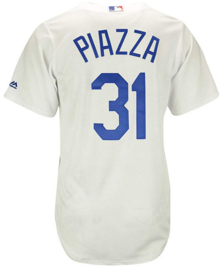 Majestic Mike Piazza Los Angeles Dodgers Cooperstown Replica Jersey