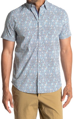 Robert Graham Byron Tailored Fit Printed Woven Shirt
