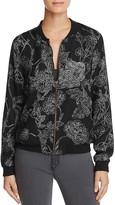 Vero Moda Electra Floral Print Bomber Jacket