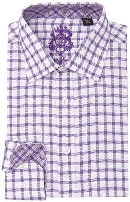 English Laundry Grid Print Dress Shirt