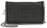 Stella McCartney 'Falabella' Studded Faux Leather Crossbody Bag - Black
