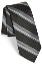 The Tie Bar Men's Stripe Silk Blend Tie