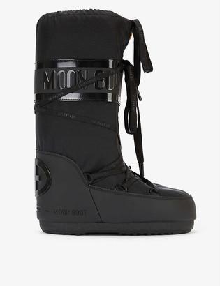 Goldbergh x Moon Boot woven ski boots