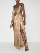 Thumbnail for your product : Maria Lucia Hohan Eden one-shoulder gown