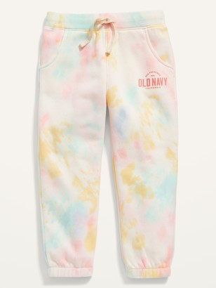Old Navy Logo-Graphic Jogger Sweatpants for Toddler Girls