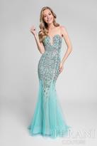 Terani Prom - Multi-Colored Illusion Mermaid Gown 1712P2449