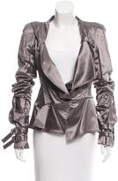 Christian Dior Structured Satin Jacket