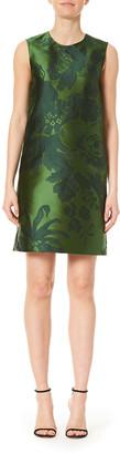Carolina Herrera Sleeveless Floral Shift Dress