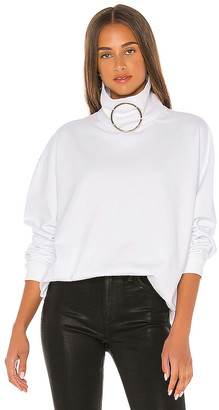 Frankie B. Claudette Ring Mock Neck Sweatshirt
