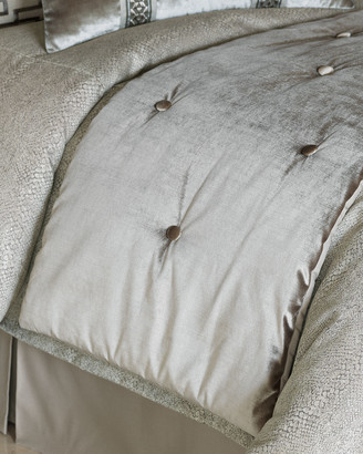 """Eastern Accents Ezra Bed Scarf, 25"""" x 90"""""""