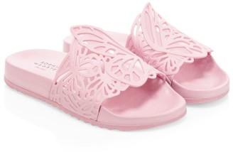 Sophia Webster Kid's Lia Butterfly Slide Sandals