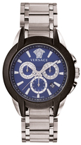 Versace Character Stainless Steel Chronograph Watch, 42.5mm
