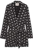 Figue Akila Printed Crepe Jacket
