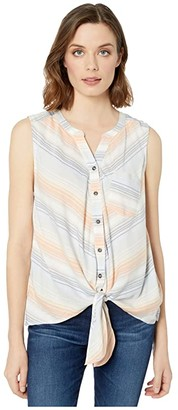 Ariat Serape Sunset Top (Multi Stripe) Women's Clothing