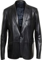 Lanvin Tailored Leather Jacket