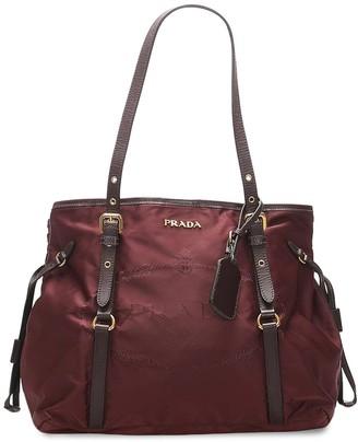 Prada Pre-Owned Canapa tote bag