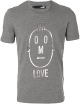 Love Moschino letter face T-shirt