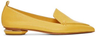 Nicholas Kirkwood Yellow Beya Loafers