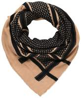Pieces JULIANA SQUARE Scarf ginger snap