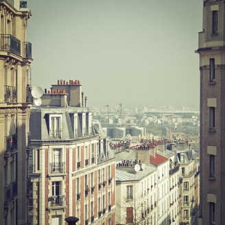"Jonathan Adler ""Paris Rooftops"" from Getty Images"