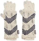 Muk Luks 3-in-1 Zigzag Tech Gloves