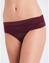 Heidi Klein Body ruched fold-over bikini bottoms