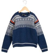 Oscar de la Renta Boys' Wool Fair Isle Sweater