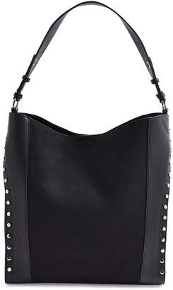 Topshop Hula Studded Hobo Bag