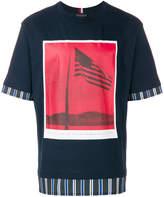 Tommy Hilfiger flag photo T-shirt