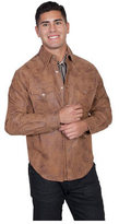 Scully Men's Frontier Leather Shirt Jacket 517
