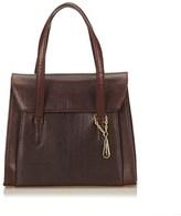 Lancel Pre-owned: Embossed Leather Handbag.
