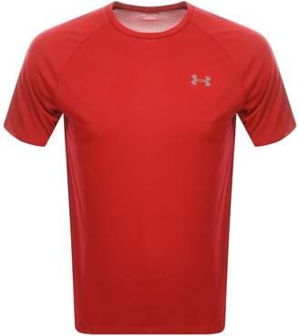 Under Armour Tech 2.0 T Shirt Red