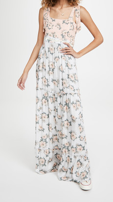 Agua Bendita Helina Zola Maxi Dress