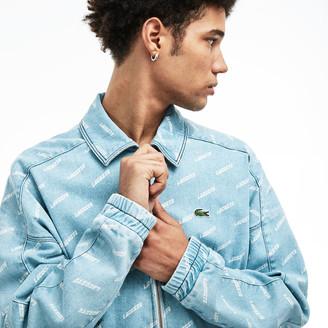 Lacoste Unisex LIVE Denim Zip Jacket